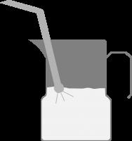 Mühle mit Siebträger