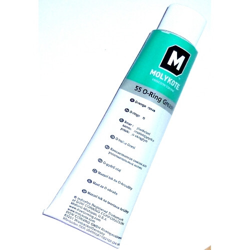 Silikonfett Molykote Grease 55 - eine Tube zu 100g