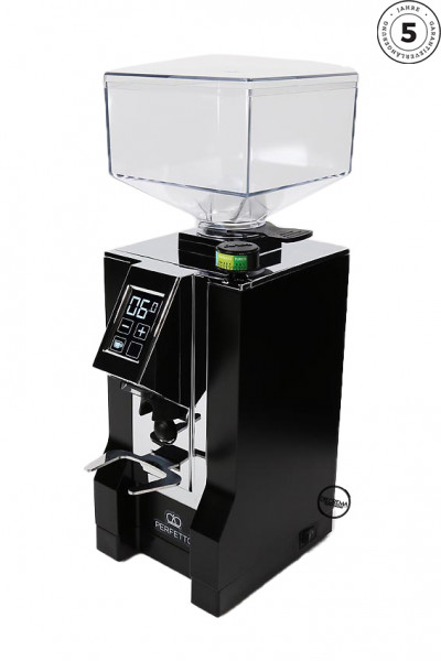 Eureka Mignon Perfetto Matt Schwarz Espressomühle