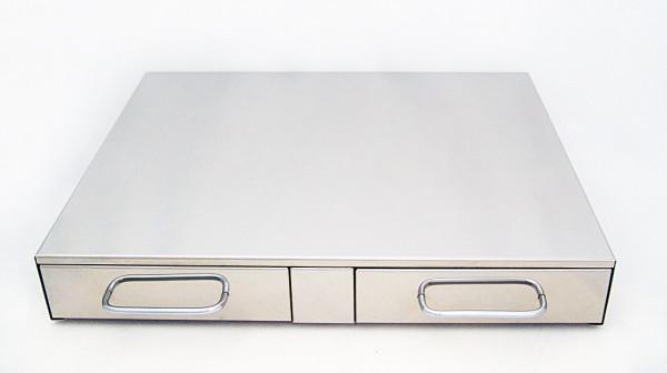 Bezzera Abklopfkasten mit 2 Schubladen