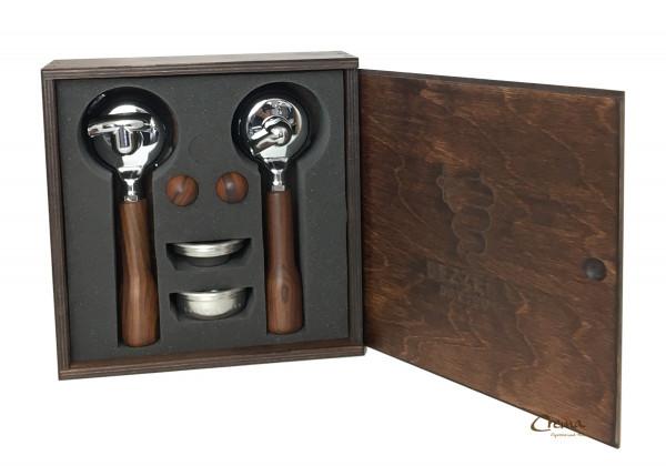 Bezzera Holz Siebträger Set W//BZ