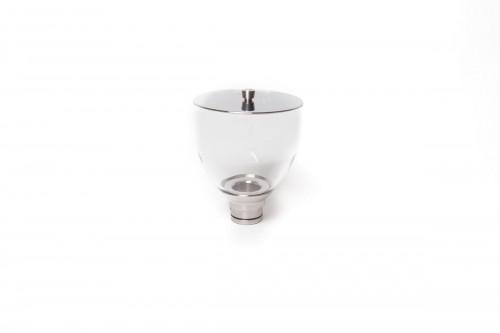 ECM Bohnenbehälter 500gr aus Glas mit Edelstahldeckel