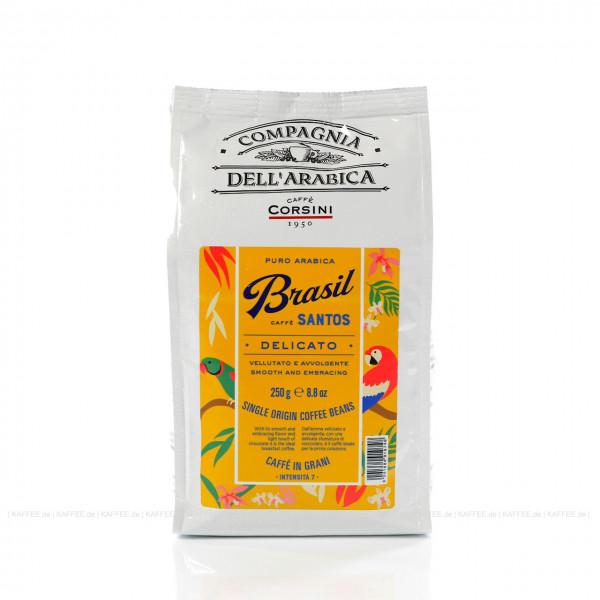 Caffè Corsini Brasil Santos , 250 gr Espressobohne